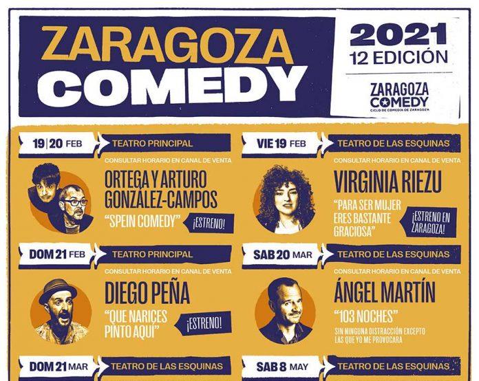 Zaragoza comedy 2021