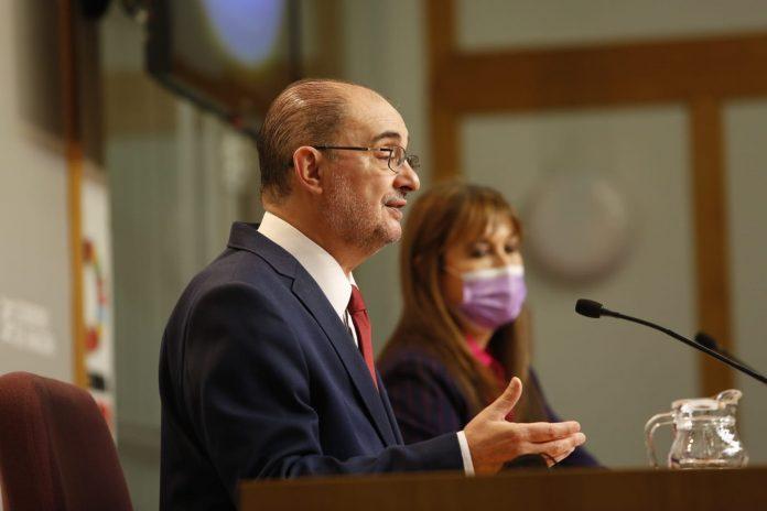 Javier Lambán Presidente de Aragón