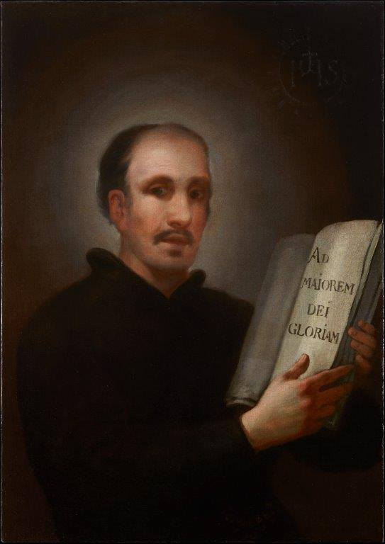 San Ignacio de loyola Goya