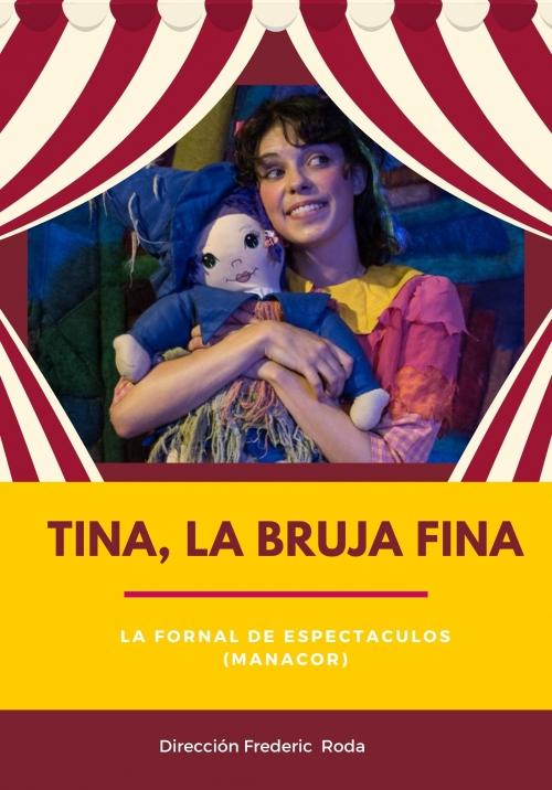 Tina la bruja fina en el teatro arbolé