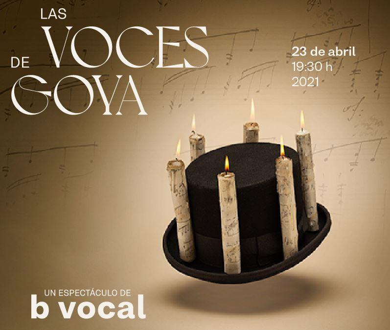 B vocal Las voces de Goya