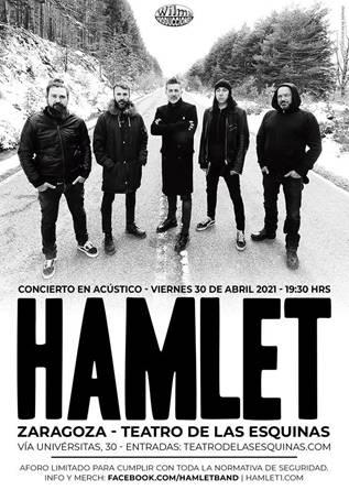 Concierto acustico Hamlet en Zaragoza