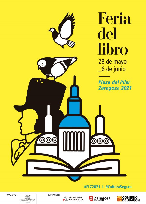 Feria del libro de zaragoza 2021