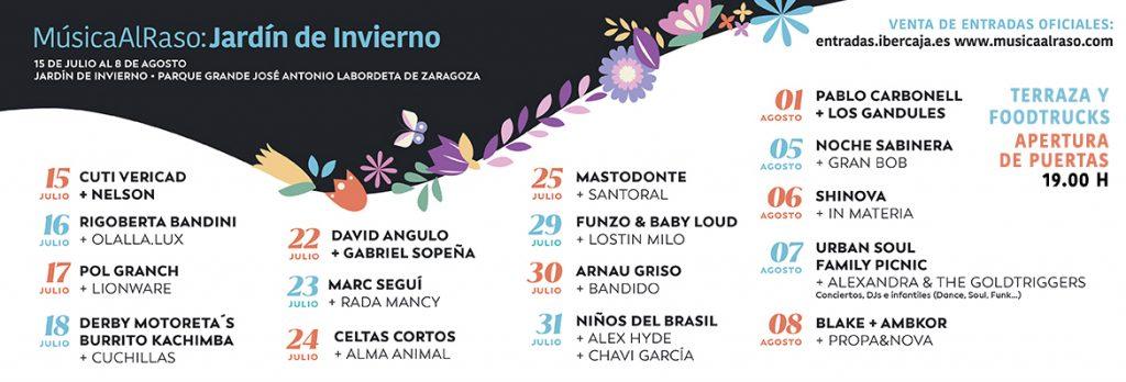 Musica al raso Zaragoza