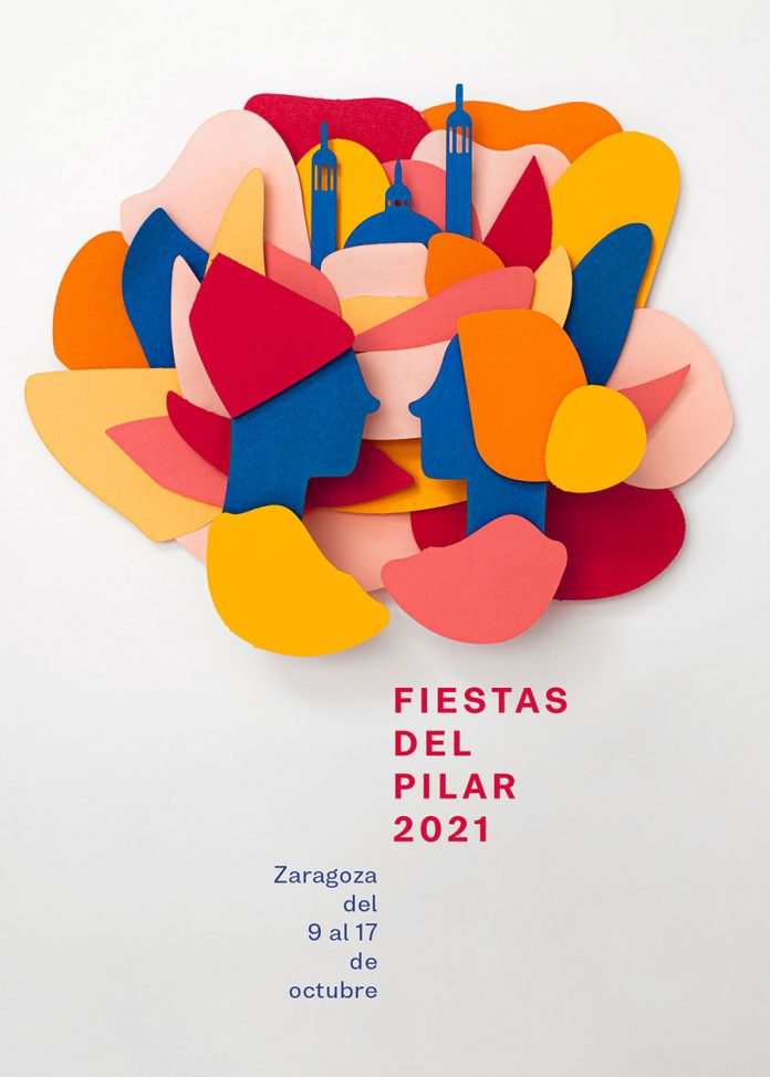 Cartel Fiestas del Pilar 2021
